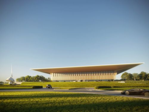 Foster + Partners Design a House of Wisdom for Judah's Scroll in Sharjah