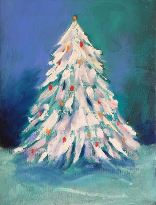 """Christmastime,"" Snowy Landscape by Amy Whitehouse"