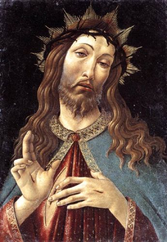 Good Friday - 1500 Sandro Botticelli Crown of Thorns