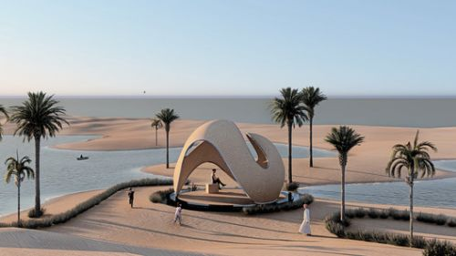 A 3D-Printed Majlis and Suspended Cliff Platforms: 9 Unbuilt Projects Submitted to ArchDaily