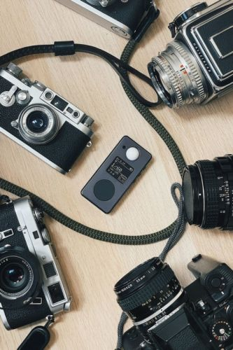 The Negative Supply LM1 is a Pocket-Sized All-Metal Digital Light Meter