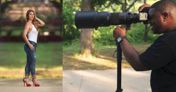Here's What You Get When You Shoot Portraits With a 500mm Lens