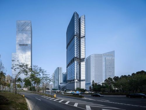 SHUIBEI International Center / Aedas