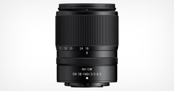 Nikon Launches the DX 18-140mm f/3.5-6.3 VR Zoom Lens for Z-Mount