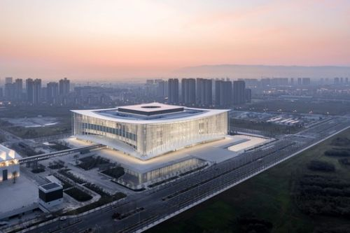 Xian Conference Center / gmp Architects