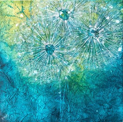 """Make a Wish"", Original Painting by Colorado Artist, Donna L. Martin"