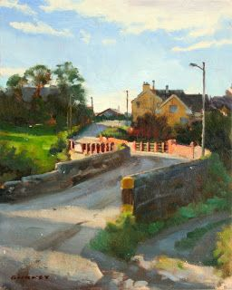 Using Cast Shadows in Landscape Painting