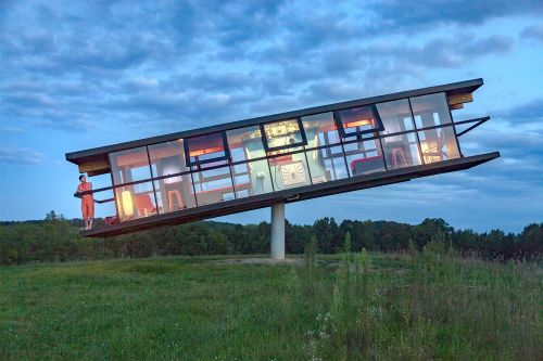 ReActor: a Tilting House That Shifts and Spins Based on its Inhabitants' Movements