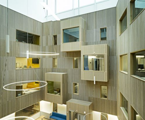Haraldsplass Hospital / C.F. Møller Architects