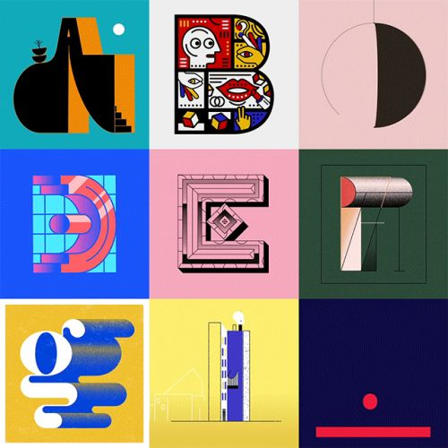 Letters and Numbers by 36 Illustrators Come to Life in Alphabetical Animations by Albert Oriol