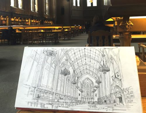 Suzzallo Library, a Step-by-Step