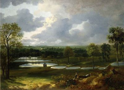 Thomas Gainsborough. Today was his day in 1727