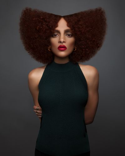 Afro Beauty Brought to Life in Photographer Luke Nugent's Lavish Hair Portraiture