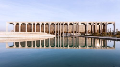 "Oscar Niemeyer's ""Favorite Project in Europe"" Captured in Spectacular Photo Set by Karina Castro"
