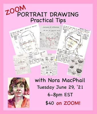 Portrait Drawing Practical Tips. Again!