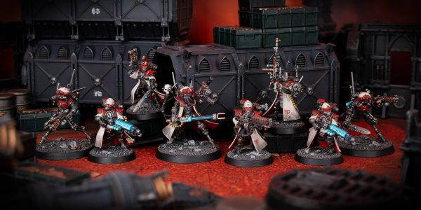 Showcase: Adeptus Mechanicus Forge World Metalica Kill Team