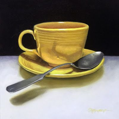 """Cup and Spoon"""