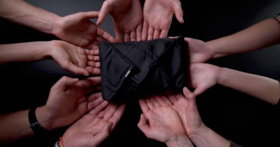 The BAD Wrap is a Flexible And Waterproof Cover For Your Gear