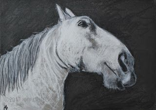 Sketches Are Art -The Carriage Horse