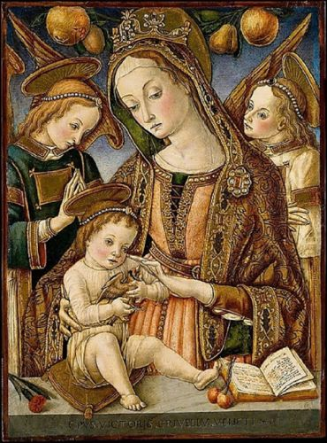 Madonnas attributed to Vittorio Crivelli