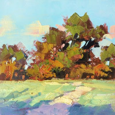 AUCTION ENDING, LANDSCAPE by TOM BROWN