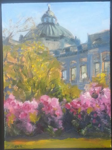 Library of Congress from the Capital 52815 by Candy Barr
