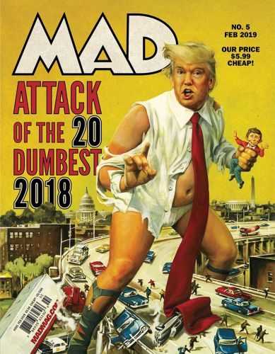 On the Stands: MAD 5!