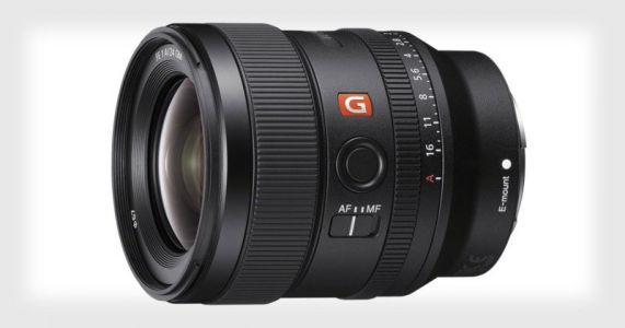 Sony Unveils the 24mm f/1.4 G Master Lens