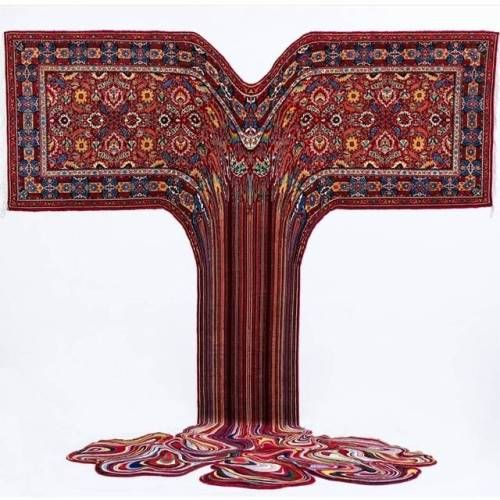 Melted and Pixelated Rugs by Faig AhmedFaig Ahmed is