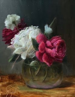 Oklahoma Rose by artist Pat Meyer